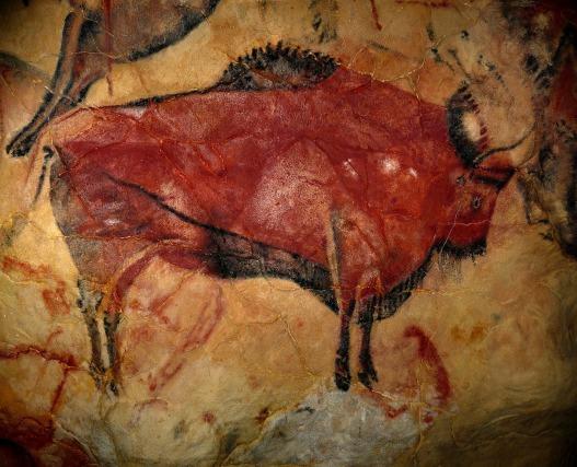 Bison, Höhle von Altamira (CCO Public Domain)